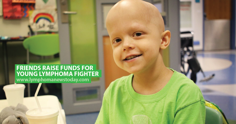 Friends Raise Funds For Young Lymphoma Fighter Lymphoma News Today